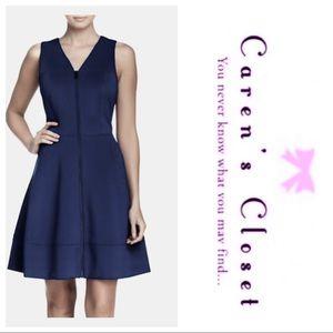 Vince Camuto Sleeveless Zip Scuba Dress